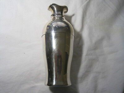 GEORGE SHIEBLER STERLING SILVER,FINE  COCKTAIL SHAKER CUP,1880s-90s,MONOGRAMMED