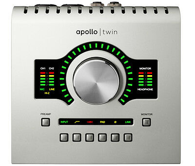 Universal Audio Apollo Twin Duo USB High-Resolution USB Interface with Realtime