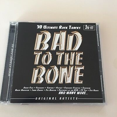 BAD TO THE BONE - FEAT - Angry, Zz Top, Sky Hooks + Various Artists - 2CD