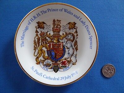 The Marriage of H.R.H. The Prince of Wales and Lady Diana Spencer souvenir plate
