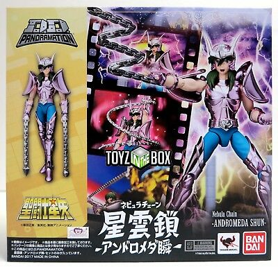In STOCK Saint Seiya D.D. Panoramation Andromeda Shun Nebula Chain Action Figure