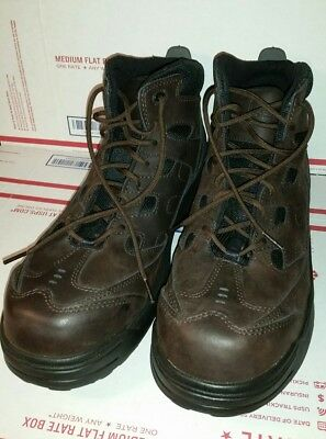 """Worx # 6556 By Red Wing Shoes Men's 6"""" Work Hiker  Safety-Toe  Work  boots"""