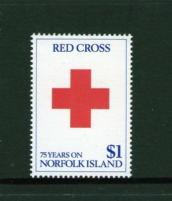 NORFOLK Is, 1989 RED CROSS 1 MNH