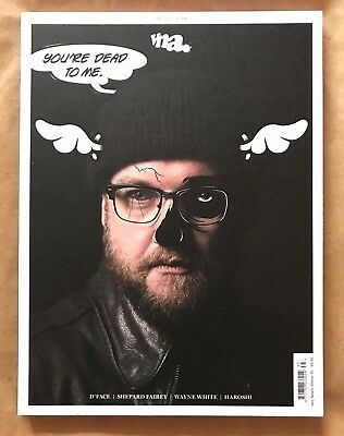 VNA Street Art Magazine 35 Very Nearly Almost. D*Face Shepard Fairey Final Issue
