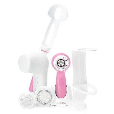 MICHAEL TODD Deluxe 'Cotton Candy' 8pc Soniclear Antimicrobial Cleansing System