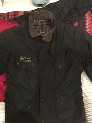 Barbour International Armoured Motorcycle Jacket (Small, but fits like Medium)