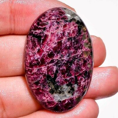 50.90Cts 100% Natural Nice Eudialyte Oval Cabochon Size 37X24X6 Gemstone L73