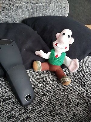 small wallace and gromit wallace finger puppet soft toy plush aardman animations
