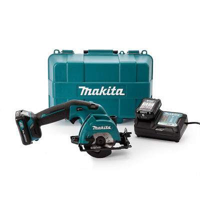 Makita HS301DWAE Circular Saw 85mm 10.8V CXT Cordless Li-ion 2 x 2.0Ah Batts