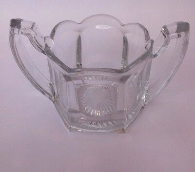 Vintage Glass Two Handled Beautiful Little Bowl/Dish.