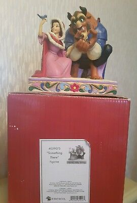 Disney traditions beauty and the beast something there showcase rare with box
