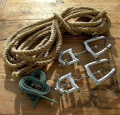 Lot Corde + Crampons Simond  Montagne Mountains Ropes Deco Chalet Mountaineering