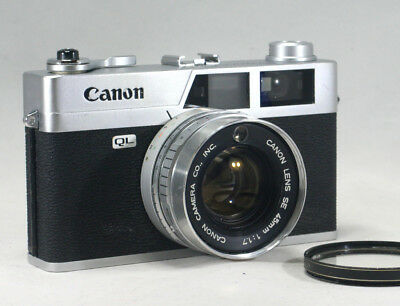 *Excellent* Canon canonet QL-17 35mm Rangefinder Film Camera / From Japan