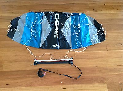 Cross Boarder - Trainer Kite 1.5m (with bar and lines). Brand New. Ages 10+