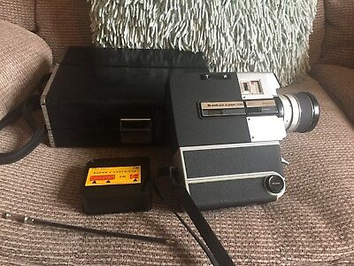 Vintage Sankyo Cm400 Super 8 Film Camera+Case