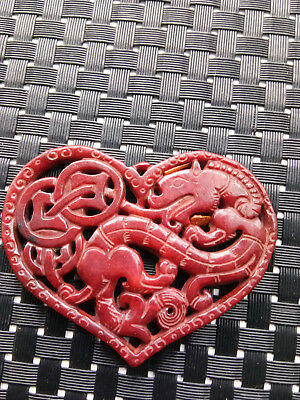 What the ancient Chinese natural jade carved statue of the pendant
