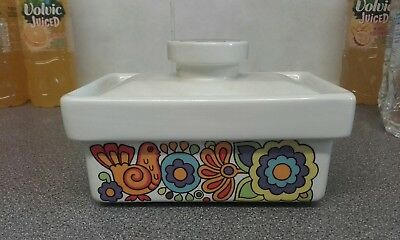 Lord nelson pottery 'Gaymime' Butter dish.