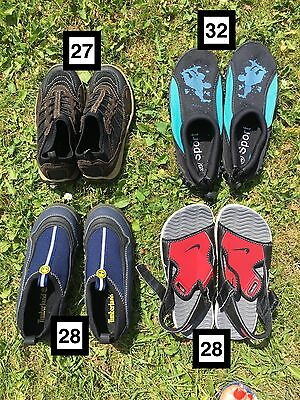 Lot chaussures Néoprène enfant (Nike,Timberland...)