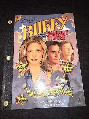 Buffy The Vampire Slayer Once More With Feeling Script And Sheet Music Book