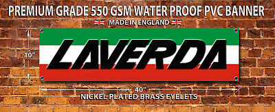 Laverda Motorcycles Waterproof 550Gsm Grade Pvc Banner.garage,workshop Banner