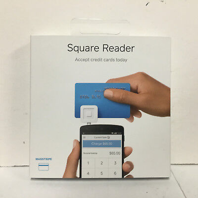Square Reader  MOBILE CREDIT CARD READER NEW IN BOX