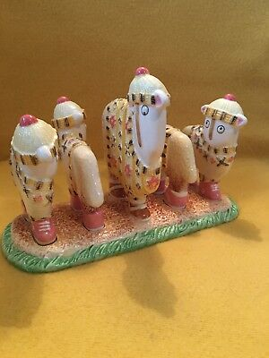 "Ewe and Me Sheep ""Tea and Toast with Morag"" Toast Rack Toni Goffe Collectable"