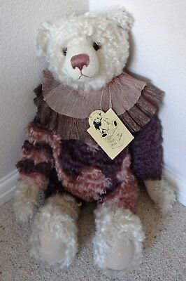 Pam Howells Bear - Masqurade - One Only - 100% Mohair - Hand Crafted