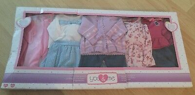 Toys R Us Baby Doll Outfits Brand New