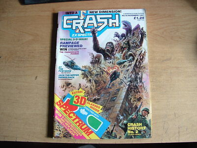 Crash  Magazine Zx Spectum No 46