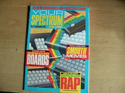 YOUR SPECTRUM MAGAZINE No 7  RETRO COMPUTING