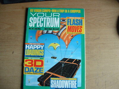 YOUR SPECTRUM MAGAZINE No 16  RETRO COMPUTING