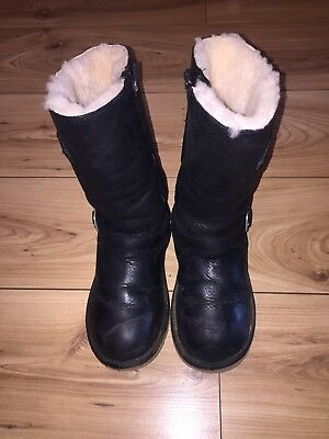 ugg kensington Leather boots Size Uk 3