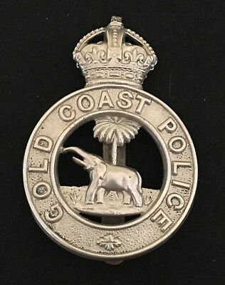 Gold Coast Police Kings Crown Cap Badge