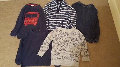 BoysJumper (×5) bundle 2-3 M&S & Bluezoo