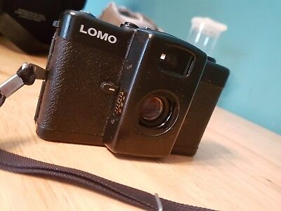 Lomography Lomo LC-A 35mm Compact Film Camera With 32mm lens