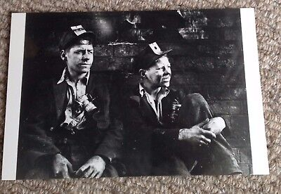 Two young colliers, Newcastle 1936 postcard, photo - Coal Mine, Mining