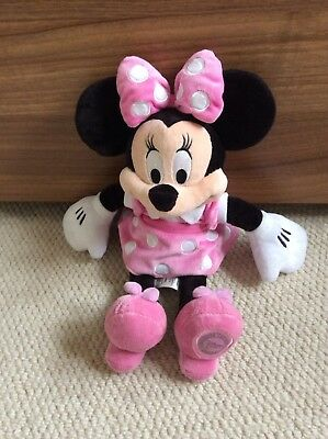 Minnie Mouse Plush Soft Toy Official Disney. Good Clean Condition.