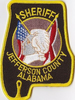 Jefferson County Sheriff Police patch Alabama AL NEW!!!