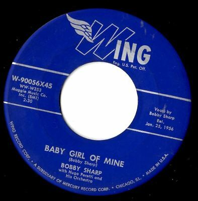 soul northern soul popcorn Bobby Sharp baby girl of mine  MINT