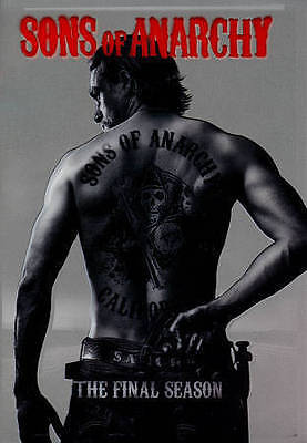 Sons of Anarchy: The Final Season (DVD, 2015, 5-Disc Set)*