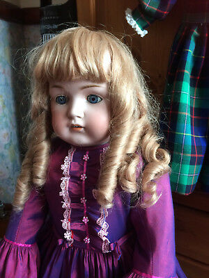 """All Dolls Lovely Drop Curls French Georgette Bravot Cheveux Naturels Wig 14""""hd"""