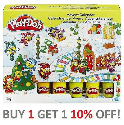 Play-Doh Advent Calendar Christmas 2017 - Fast Delivery ** Limited Stock **