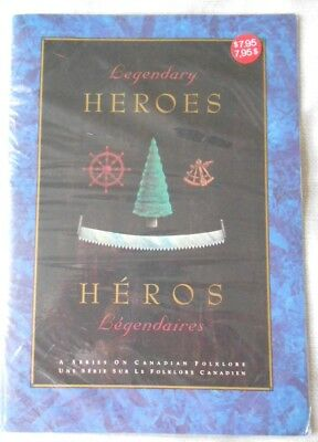 Canada Legendary Heroes - souvenir stamp book - new and sealed