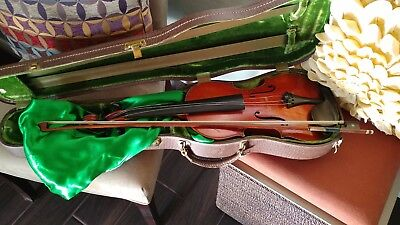 Vintage Adolph Sprenger 1904 Violin w/ bow and case