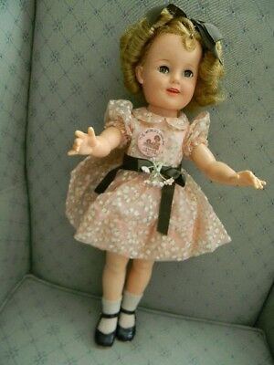 """Shirley Temple doll Ideal 1950's ST-19"""" Flirty Eyes, Clean and Fresh"""