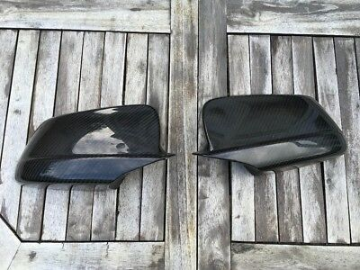 BMW carbon mirror for 5 series F10. Original pair of BMW parts