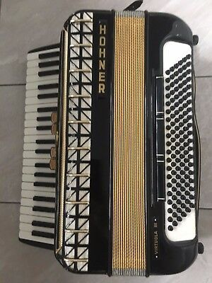 HOHNER Virtuola III Accordion 120 bass - almost in the new condition Alpenklang
