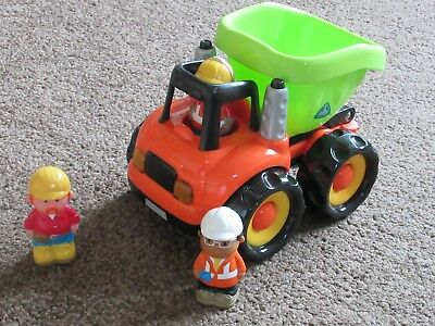 Elc Happyland Large Dumper Truck With Lights And Sounds -