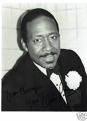 Clarke Peters American Actor Jerhico Hand signed Photograph 10 x 8  + Comp Card