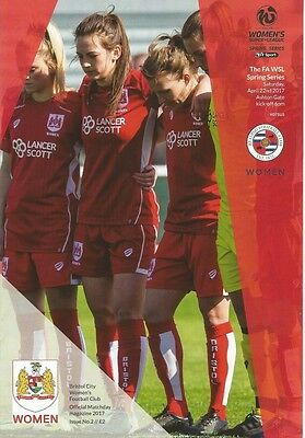 BRISTOL CITY WOMEN v READING WOMEN  2017